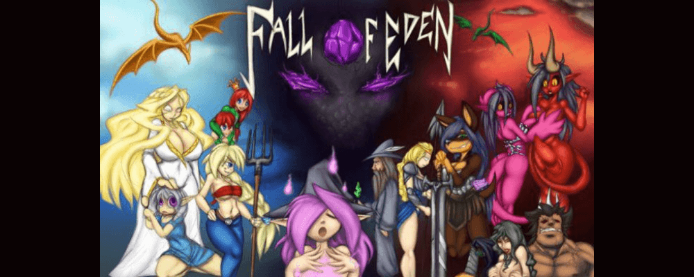 Fall of Eden — adult erotic flash game