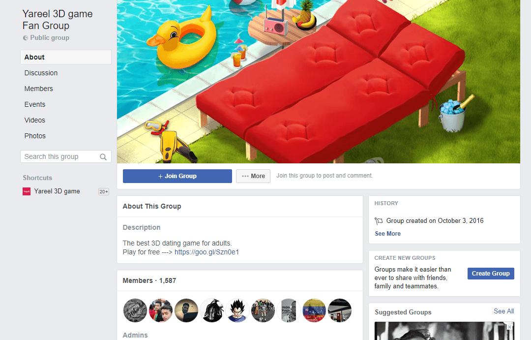 Fan Group Facebook