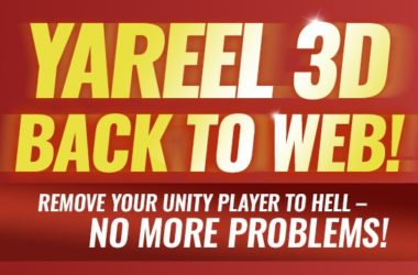 Yareel 3d back to web!