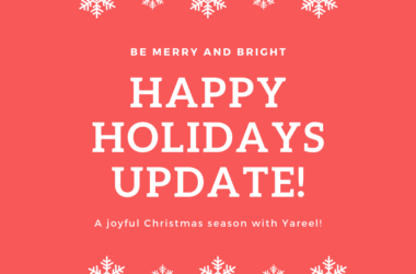 Feel the spirit of Christmas with Yareel