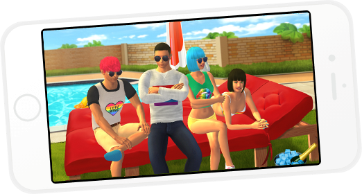 Free multiplayer 3D adult game